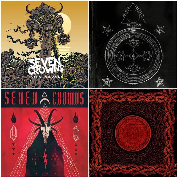 Seven Crowns album covers