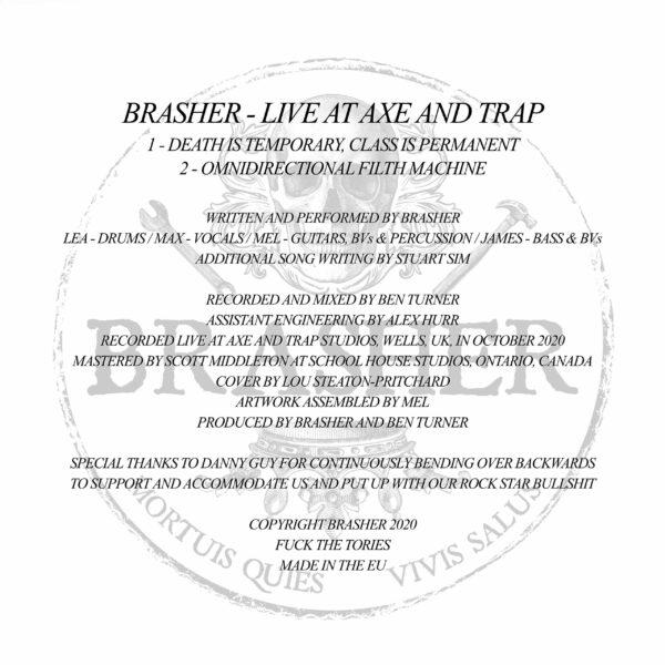 Brasher Linear Notes