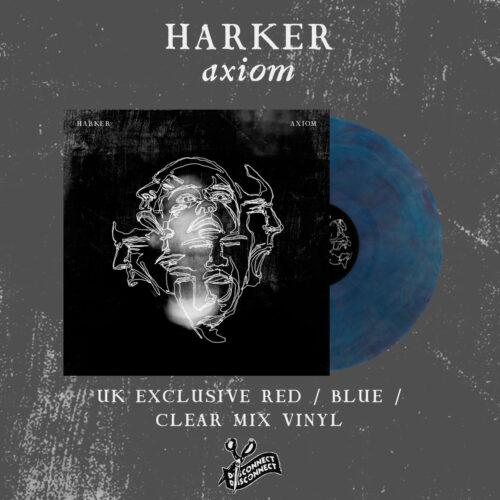 Harker - 'Axion' Blue/Red Vinyl