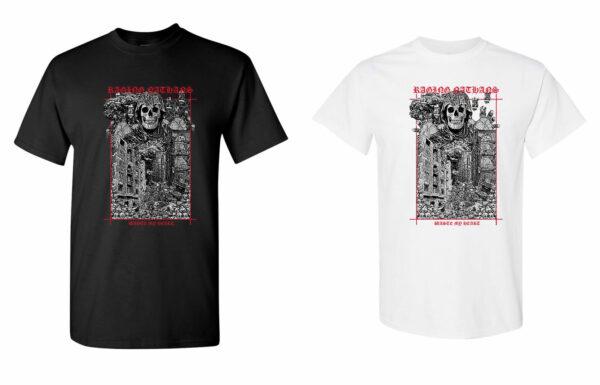 'Waste My Heart' tshirts black/white