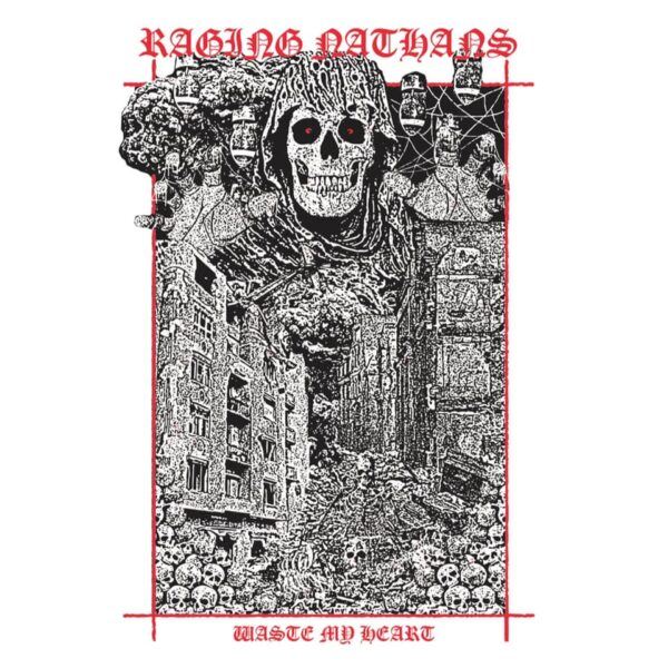 The Raging Nathans and 'Waste My Heart' cover art