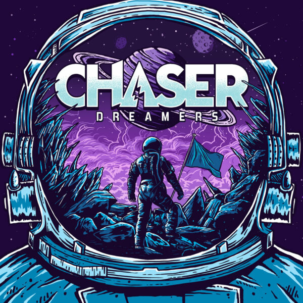 CHASER and 'Dreamers' Album Cover