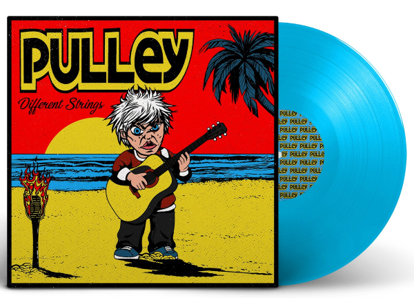 Pulley -Different Strings Blue vinyl