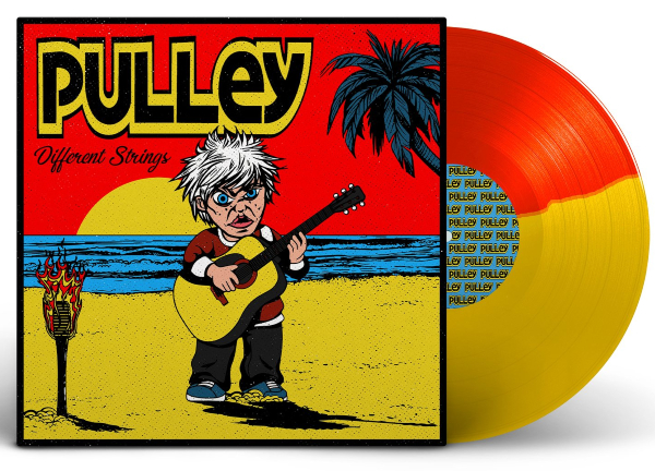 Pulley - Different Strings Red/Yellow vinyl