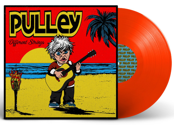 Pulley - Different Strings Red vinyl